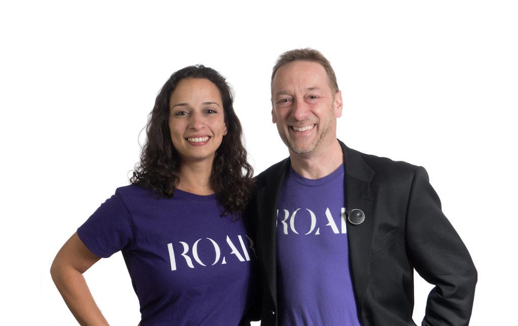 <em>Cofounders Yasmine Mustafa and Anthony Gold. (Courtesy photo)</em>