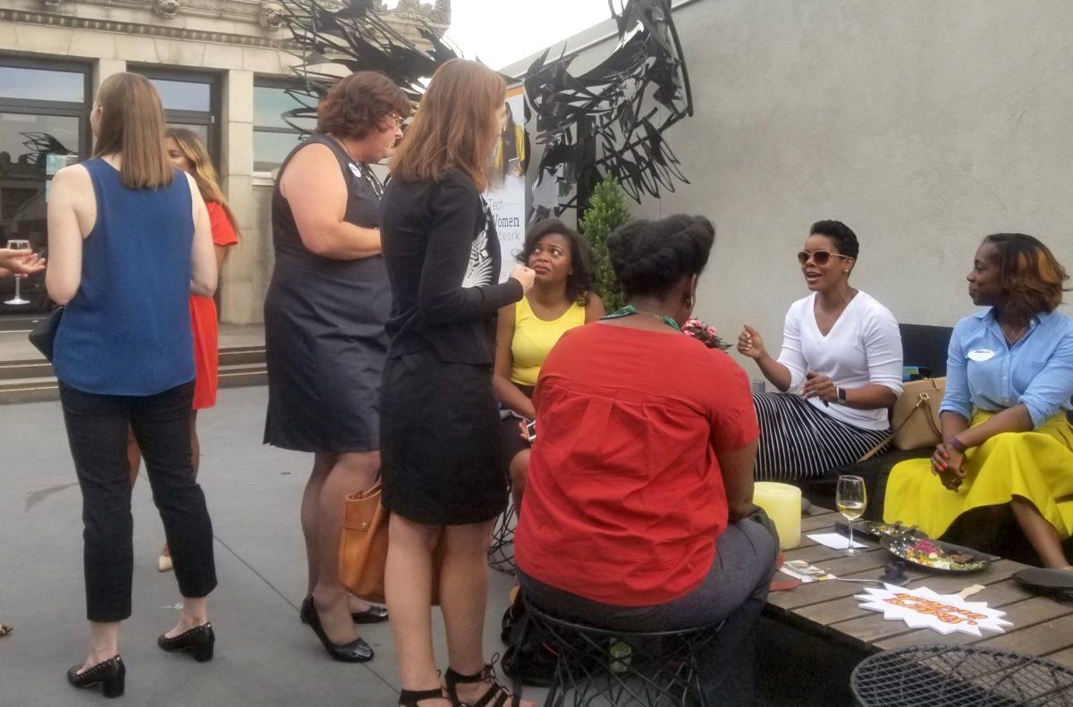 A Tech Women Network event.
